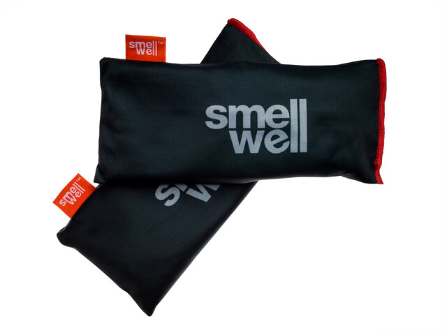 SmellWell Active XL Freshener Inserts for Shoes and Gear, black stone